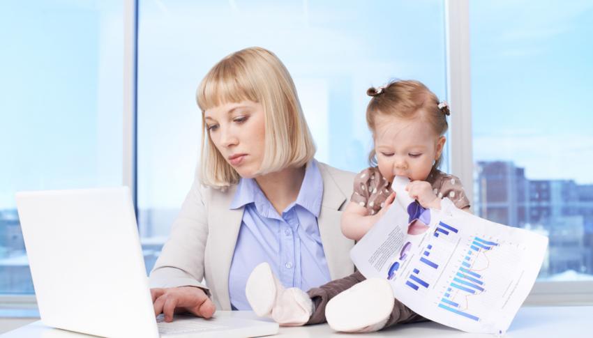 Jak zorganizować pracę w domu, gdy Twoim życiem rządzą dzieci